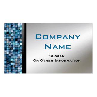 Blue Mosaic Tiles Business Cards