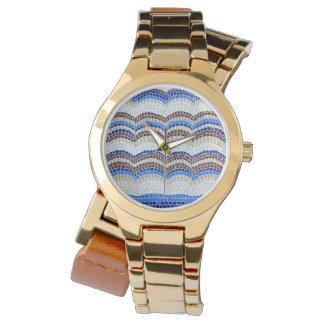 Blue Mosaic Women's Watch