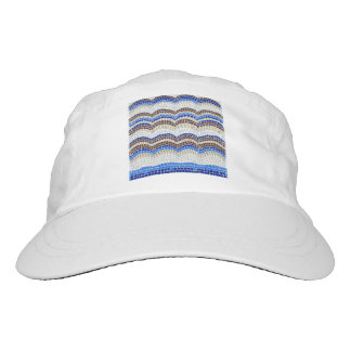 Blue Mosaic Woven Performance Hat