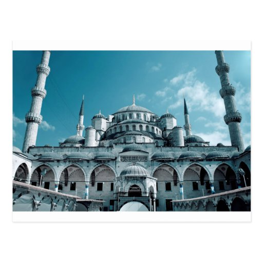 Blue Mosque in Istanbul Postcards