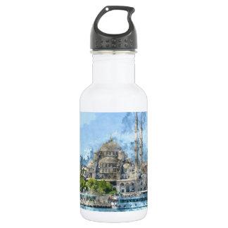 Blue Mosque in Istanbul Turkey 532 Ml Water Bottle