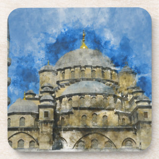 Blue Mosque in Istanbul Turkey Coaster
