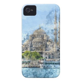 Blue Mosque in Istanbul Turkey iPhone 4 Cases