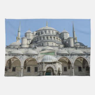 Blue Mosque in Istanbul Turkey Kitchen Towels