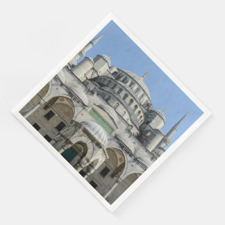 Blue Mosque in Istanbul Turkey Paper Napkin
