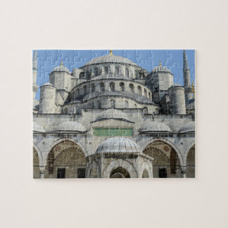 Blue Mosque in Istanbul Turkey Puzzle