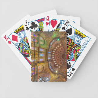 Blue Mosque Istanbul Bicycle Playing Cards