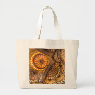 Blue Mosque Istanbul Large Tote Bag