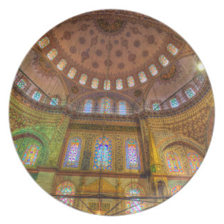 Blue Mosque Istanbul Plate