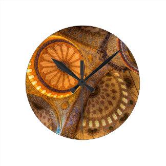 Blue Mosque Istanbul Round Clock