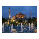Blue mosque, Istanbul, Turkey Postcards