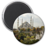 Blue Mosque Magnets