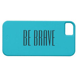 Blue motivational iPhone case