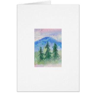 Blue Mountain 6 Greeting Card