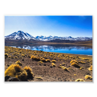 Blue mountain photo print