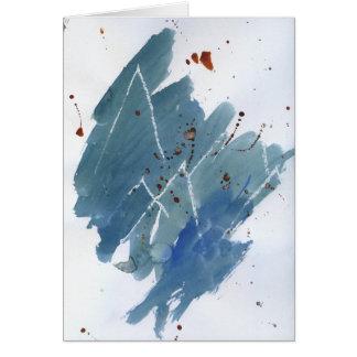 Blue Mountain Range Card