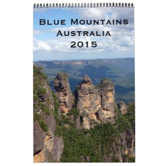 blue mountains 2015 photography wall calendar