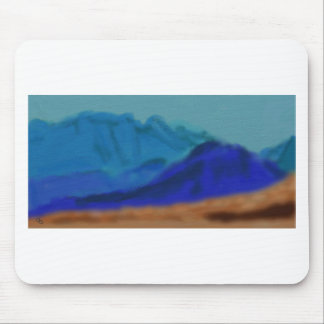 Blue Mountains Art Mouse Pad