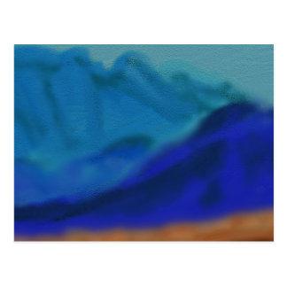 Blue Mountains Art Postcard