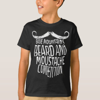 Blue Mountains Beard and Moustache Competition T-Shirt