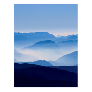 Blue Mountains Landscape Scene Postcard