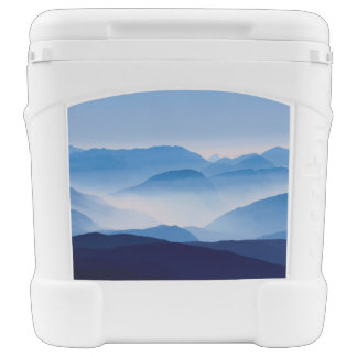 Blue Mountains Landscape Scene Rolling Cooler