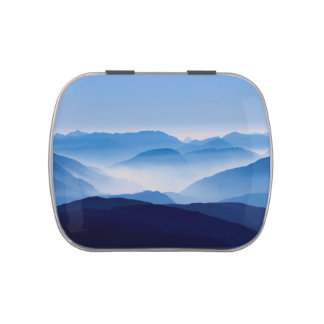 Blue Mountains Meditative Relaxing Landscape Scene
