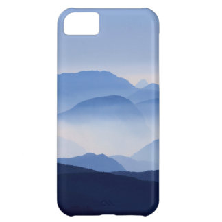 Blue Mountains Meditative Relaxing Landscape Scene Case For iPhone 5C