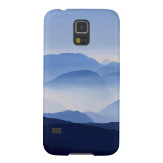 Blue Mountains Meditative Relaxing Landscape Scene Galaxy S5 Cases