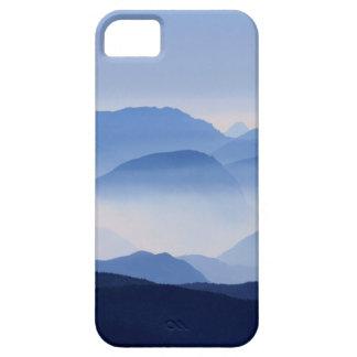 Blue Mountains Meditative Relaxing Landscape Scene iPhone 5 Case