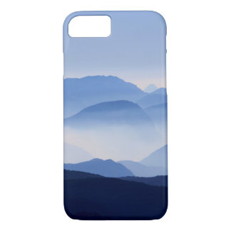 Blue Mountains Meditative Relaxing Landscape Scene iPhone 8/7 Case