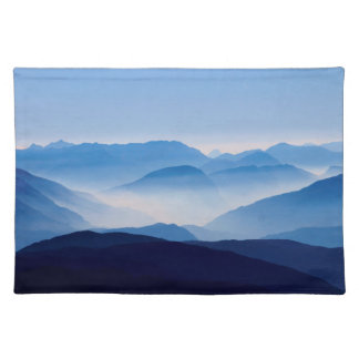Blue Mountains Meditative Relaxing Landscape Scene Placemat