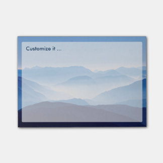 Blue Mountains Meditative Relaxing Landscape Scene Post-it® Notes