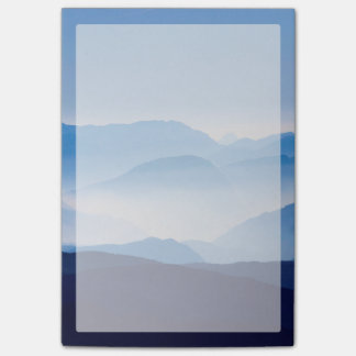 Blue Mountains Meditative Relaxing Landscape Scene Post-it Notes