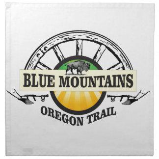 Blue mountains ot pass napkin