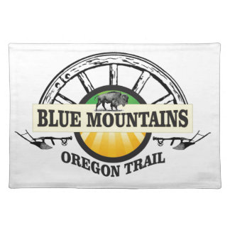 Blue mountains ot pass placemat