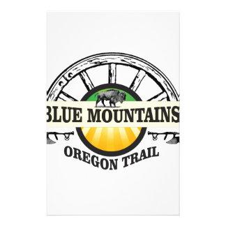 Blue mountains ot pass stationery