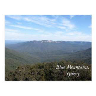 Blue mountains, Sydney Post Card