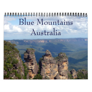 blue mountains wall calendars