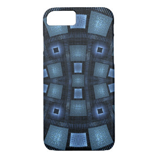 Blue Moves Abstract Pattern iPhone 7 Case