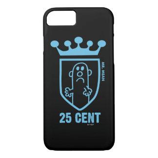 Blue Mr. Mean Crest & Crown iPhone 7 Case