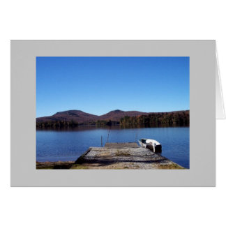 Blue Mt. Lake Card
