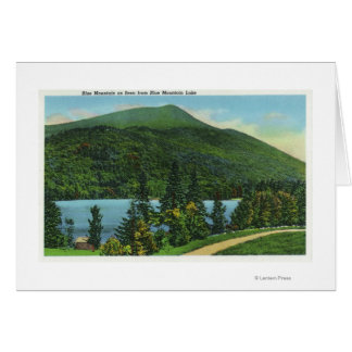 Blue Mt Lake View of the Mountain Card