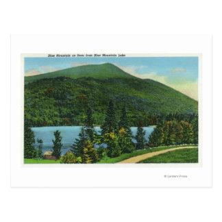 Blue Mt Lake View of the Mountain Postcard
