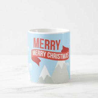 Blue mug Fofa de Christmas