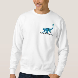Blue - Munkey front / Shortboarder back Sweatshirt