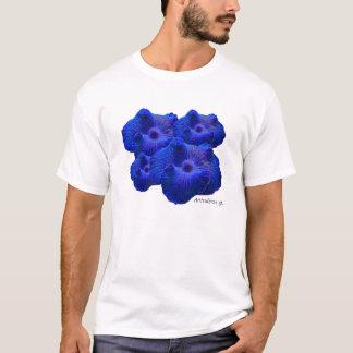 Blue Mushroom, Actinodiscus sp. coral T-Shirt