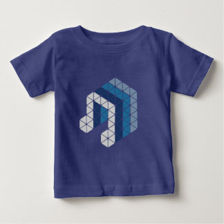 Blue Music Note Baby T-Shirt