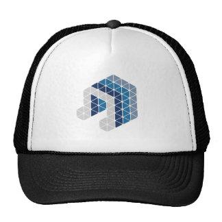 Blue Music Note Trucker Hat