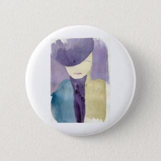 Blue Mystery 2 Inch Round Button